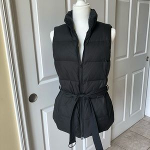 GAP Puffer Vest, Black, Size Small